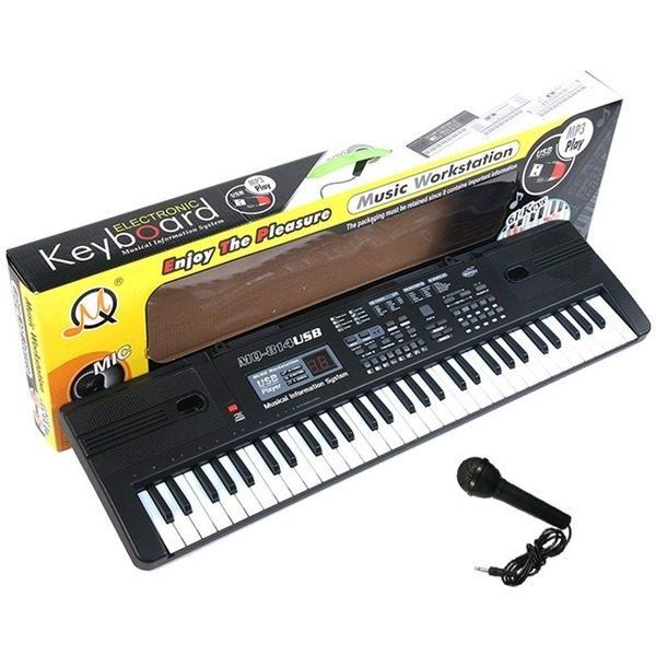 Orga electronica 61 clape MQ-814USB cu intrare USB si citire MP3 player [0]