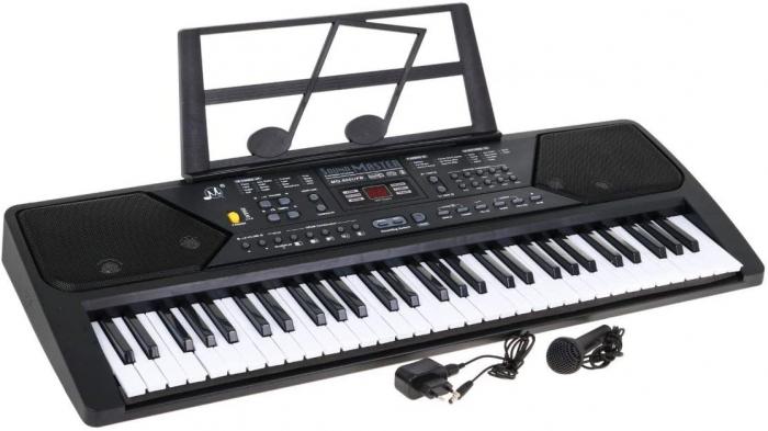 Orga electronica 61 clape MQ-600UFB, cu display, Bluetooth, microfon, Radio Fm, USB MP3 player [0]