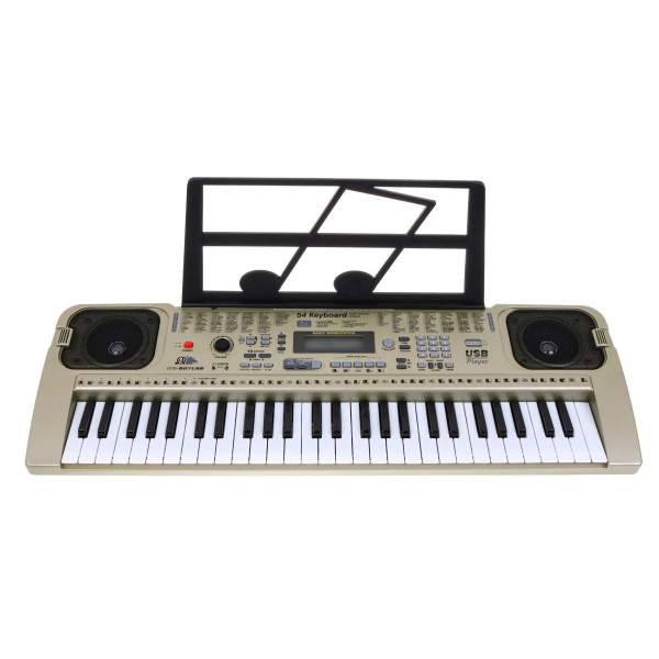 Orga electronica cu 54 clape MQ-807USB si boxe, microfon,Usb Stick Mp3 Player 2