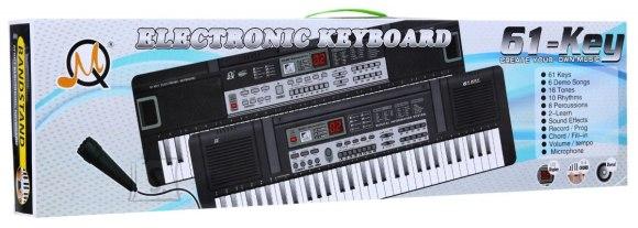 Orga electronica multifunctionala 61 clape MQ-829USB cu Boxe,MP3,USB si Microfon 2