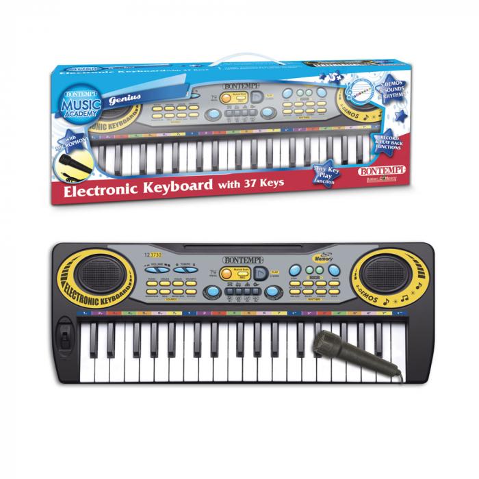 Orga electronica pentru copii Bontempi,cu 37 de clape si microfon inclus [1]