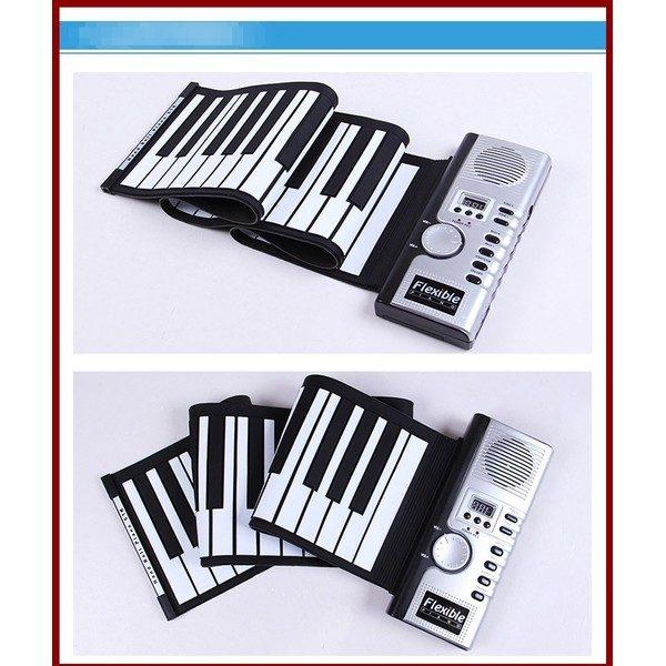 Orga flexibila cu claviatura Roll-Up 61 clape 0