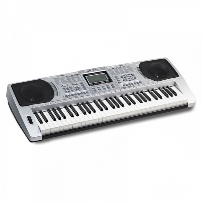 Orga profesionala electronica XY-335, 61 clape cu port USB MP3 Player si interfata Midi 0