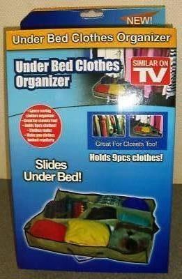 Organizator pentru haine Under Bed Clothes Organizer 0