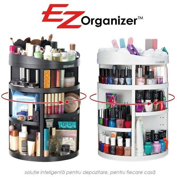 Organizator rotativ pentru cosmetice compartimentat 360 EZ Organizer [0]