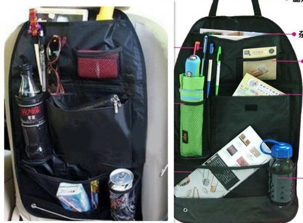Organizator scaun auto cu buzunare Back Seat Organizers 0