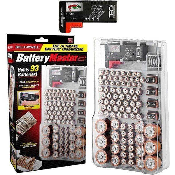Organizator pentru stocarea bateriilor cu tester Battery Master [0]
