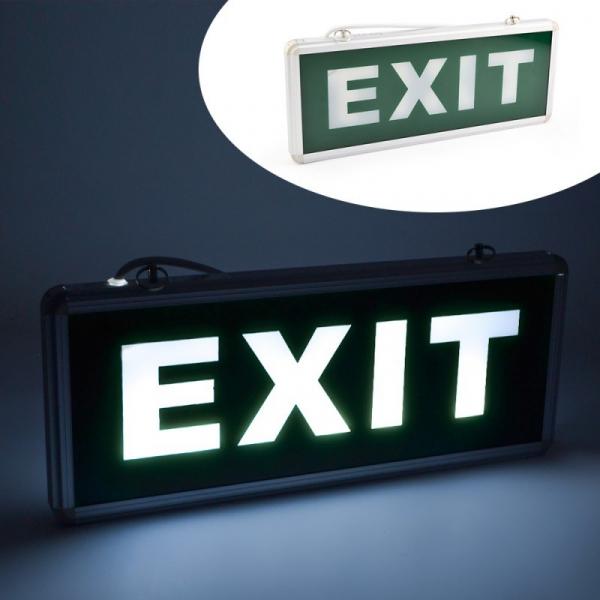 Panou semn de siguranta iluminat cu LED - EXIT 0