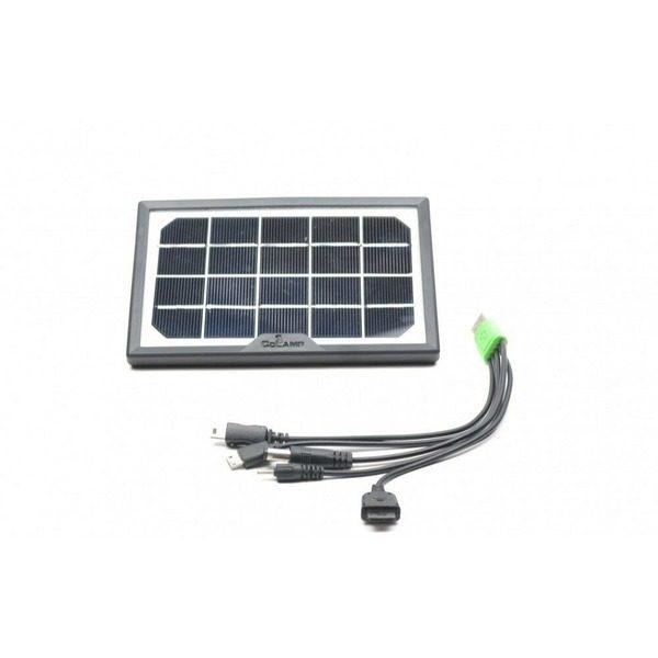 Panou solar fotovoltaic policristalin portabil pentru incarcare telefoane si intrare USB-CL-518WP 0