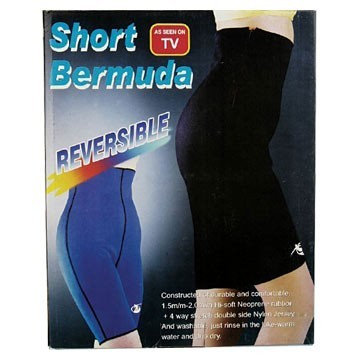 Pantaloni fitness de neopren Short Bermuda 0