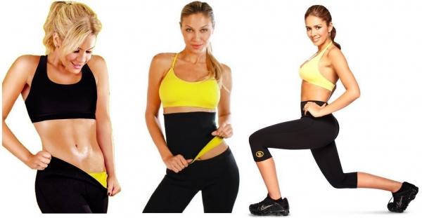 Pantaloni fitness de slabit Hot Shapers [0]