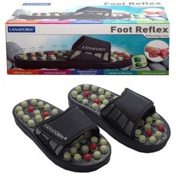 Papuci de masaj si reflexoterapie Foot Reflex Lanaform 0