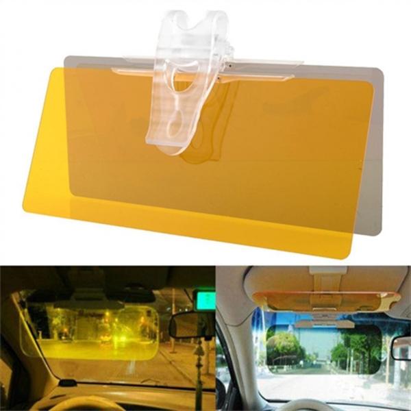 Parasolar auto pentru zi si noapte Visor HD Vision 0