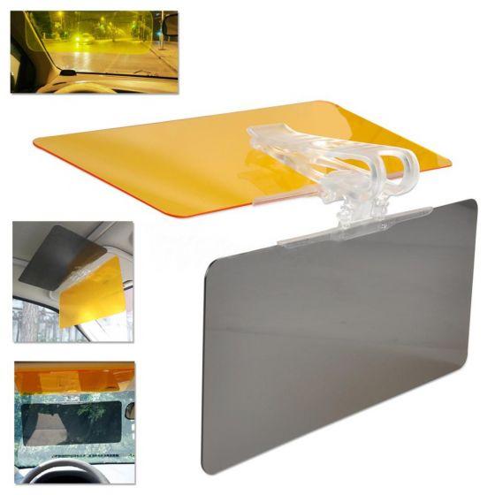 Parasolar auto pentru zi si noapte Visor HD Vision 1
