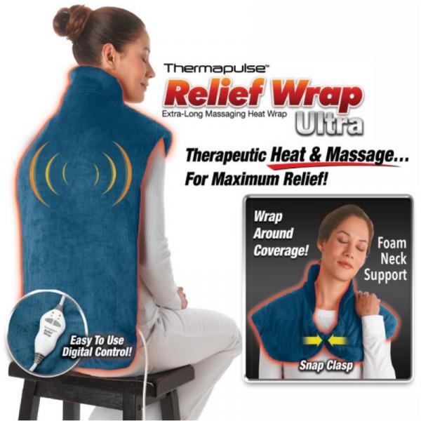 Pelerina de masaj cu incalzire Thermapulse Relief Wrap 1