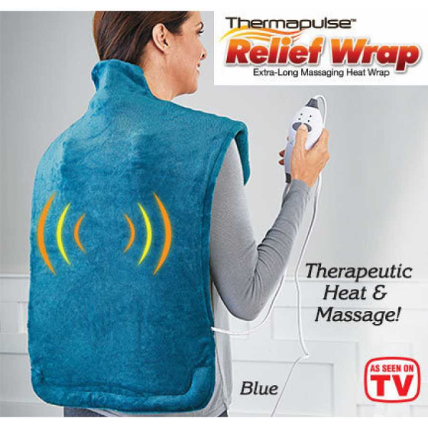 Pelerina de masaj cu incalzire Thermapulse Relief Wrap 3