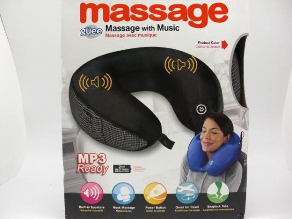Perna de masaj pentru gat cu muzica BYG270C 0