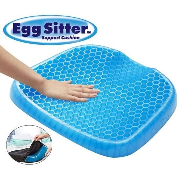 Perna Egg Sitter cu memorie gel pentru scaun 0