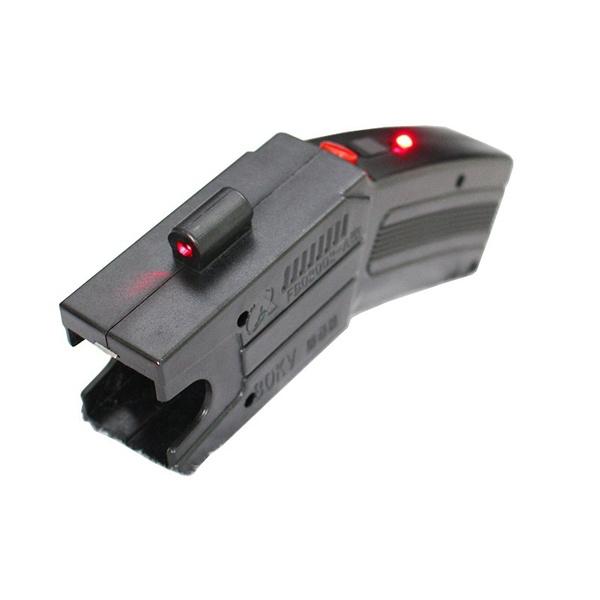 Pistol taser cu electrosoc si 3 rezerve cartuse 3