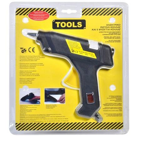 Pistol termic pentru lipit cu silicon la cald 60 watti 1