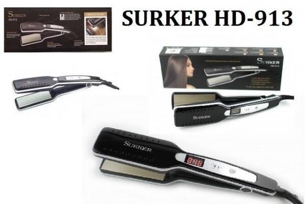 Placa pentru par din ceramica cu display LCD Surker HD-913 0