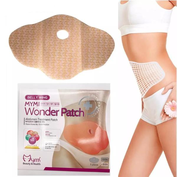 Plasturi de slabit Mymi Wonder Patch pentru zona abdominala 0