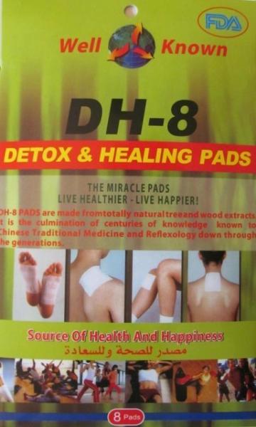 Plasturi pentru vindecare si detoxifiere Detox Healing DH-8 0