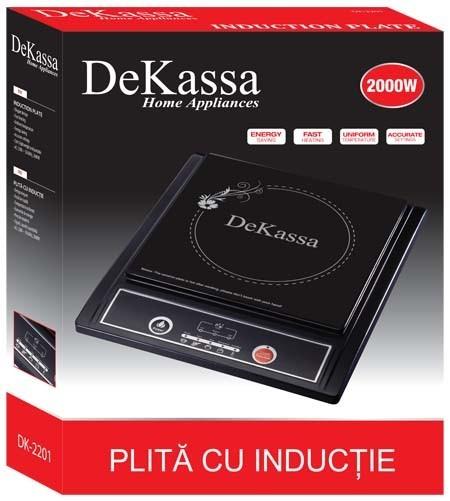 Plita cu inductie DeKassa DK-2201 0