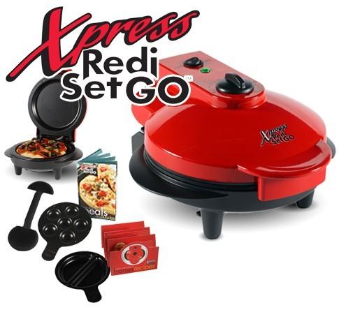 Plita electrica pentru pizza, briose, clatite Xpress Redi Set Go 0