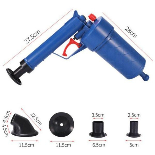 Pompa cu aer comprimat pentru desfundat chiuvete si toalete Air Drain Blaster 0