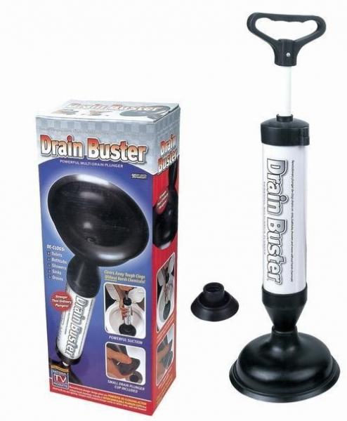 Pompa pentru desfundat chiuvete si toalete Drain Buster 0