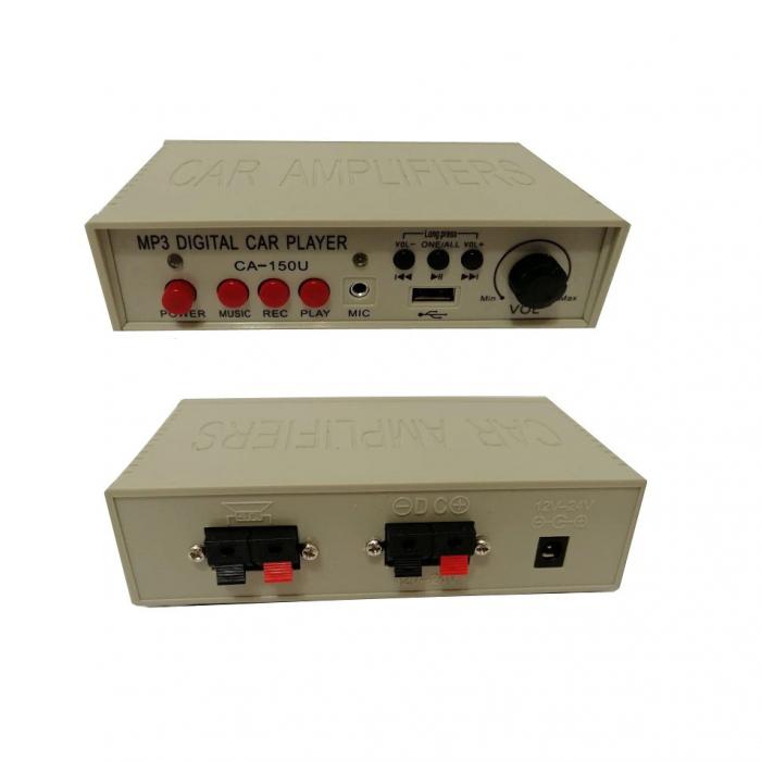 Portavoce Megafon auto 12V cu inregistrare si slot USB, 40 Watti 1