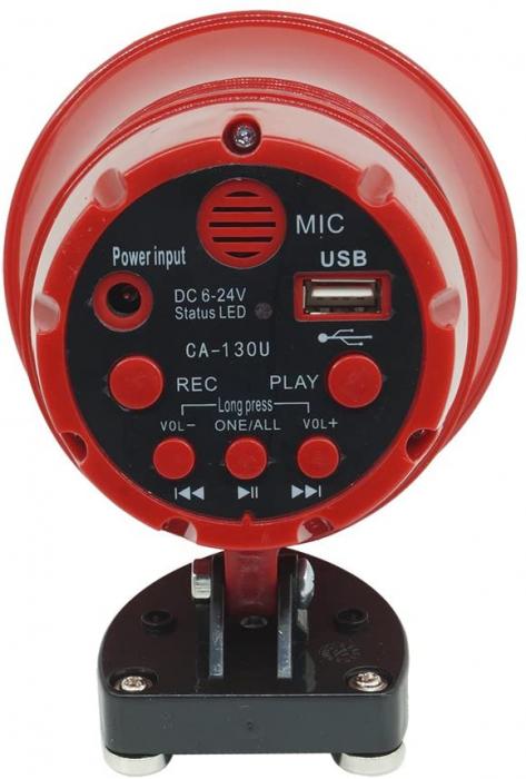Portavoce megafon auto cu inregistrare si citire stick USB, CA-130U [0]