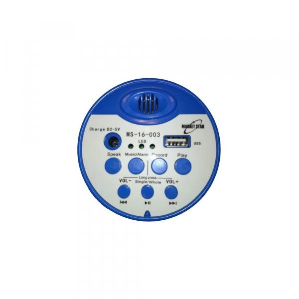 Portavoce portabila cu acumulator si MP3 Player USB stick inregistrare MS-16-003 2