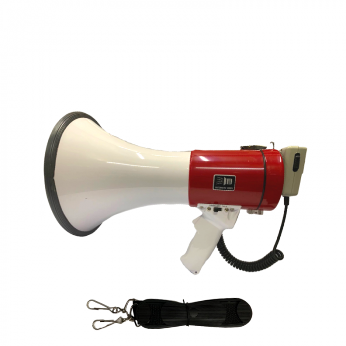 Megafon portavoce portabila cu microfon extern si acumulator, SD-10SH-B [0]