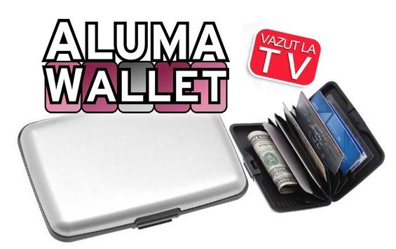 Portofel fabricat din aluminiu Aluma Wallet 0