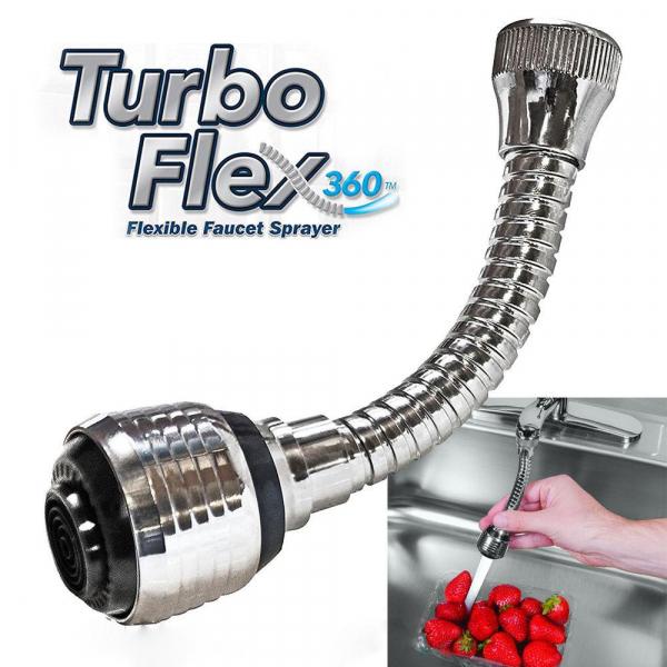 Prelungitor flexibil universal pentru robinet Turbo Flex 2