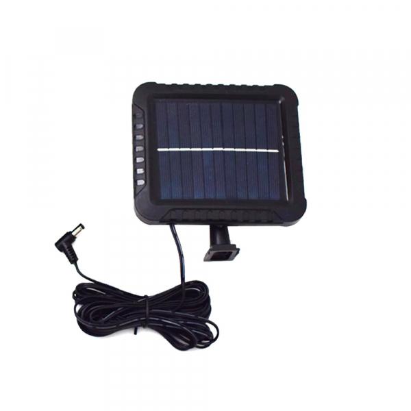 Proiector 10W COB LED cu senzor de miscare si panou solar individual 2