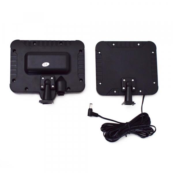 Proiector 10W COB LED cu senzor de miscare si panou solar individual 3