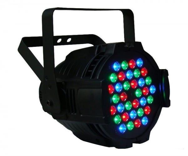 Proiector joc de lumini PAR 36 LED RGB 0 5W 0