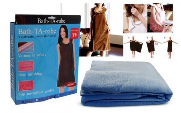 Prosop pentru baie tip halat Bath-TA-robe 0