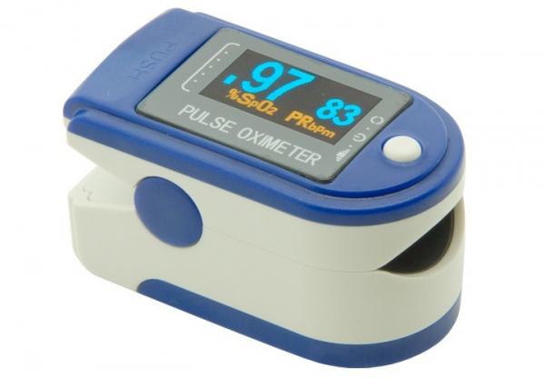 Pulsoximetru Contec CMS50D de deget pentru adulti si copii Puls-oximetru cu pletismograma 0