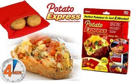 Punga magica de copt cartofi Potato Express [0]