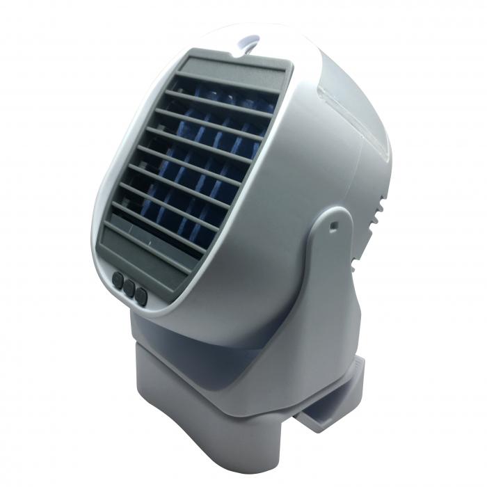 Racitor de aer 2 in 1 Air Cooler, cu vaporizator si rotatie 360 [3]