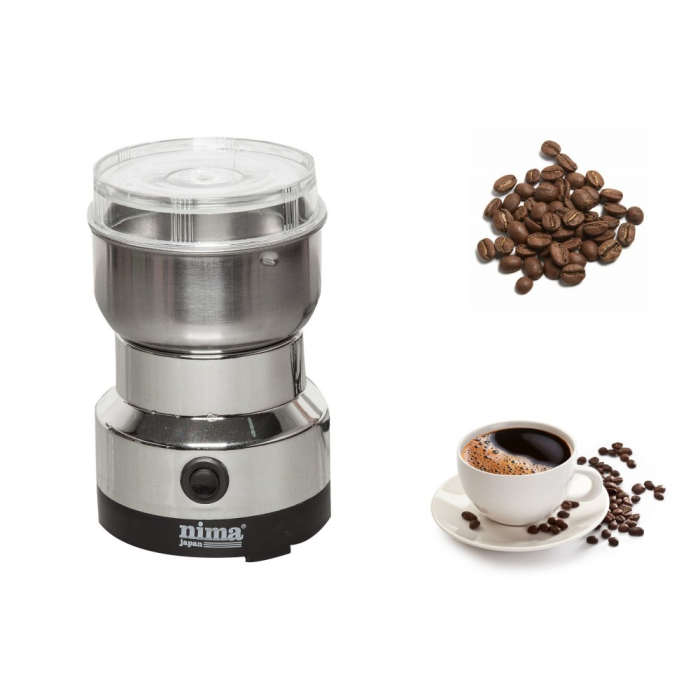 Rasnita electrica pentru cafea cu putere 200 Watt, Nima Japan NM-8300 0