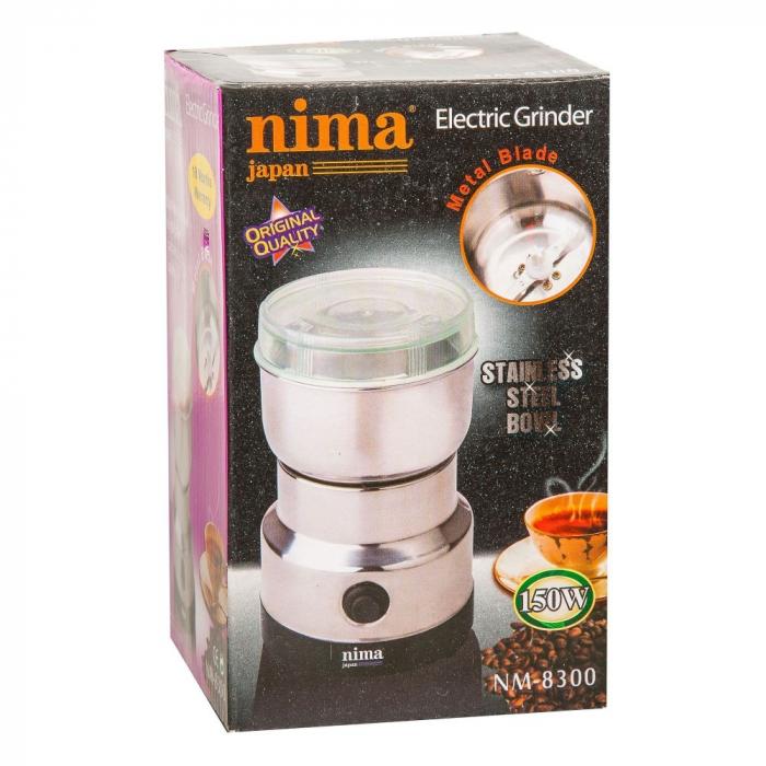 Rasnita electrica pentru cafea cu putere 200 Watt, Nima Japan NM-8300 3