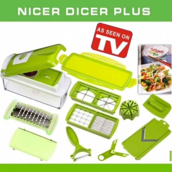 Razatoare verde multifunctionala 9 piese autentic Nicer 0