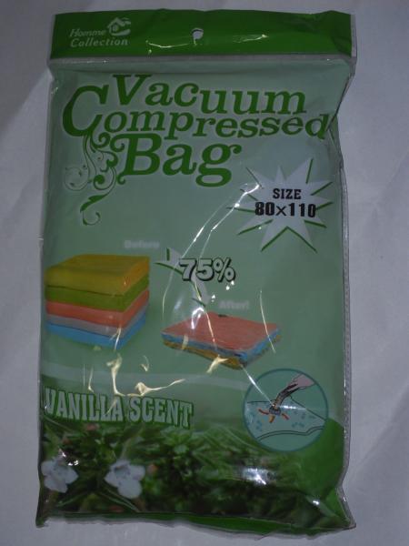 Sac vacuum mare parfumati cu vanilie 80x110cm [0]