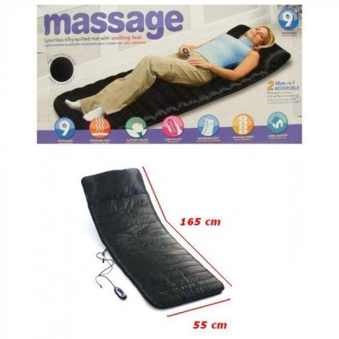 Saltea de masaj cu vibratii si incalzire 2-in-1,Massage 9 [2]