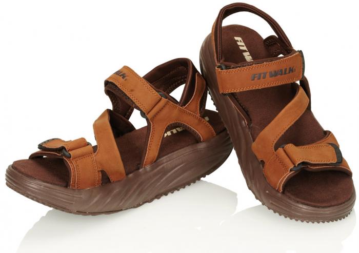 Sandale pentru bărbați de slăbit, FIT WALK [0]